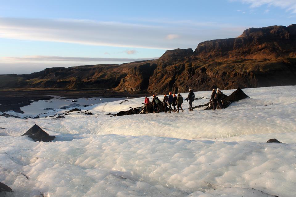Les glaciers d'Islande , Des glaciers sur des volcans , Islande