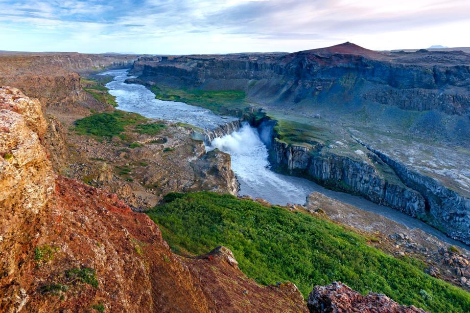 La reserva de Jokulsarglfur , El río Jökulsa , Islandia