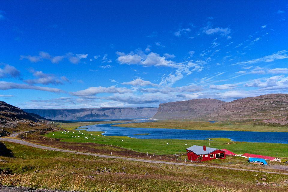 Fjords , The fjords, Iceland , Iceland