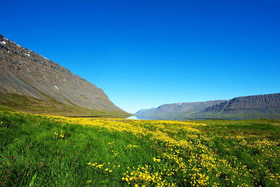 Les fjords , Ísafjörður , Islande