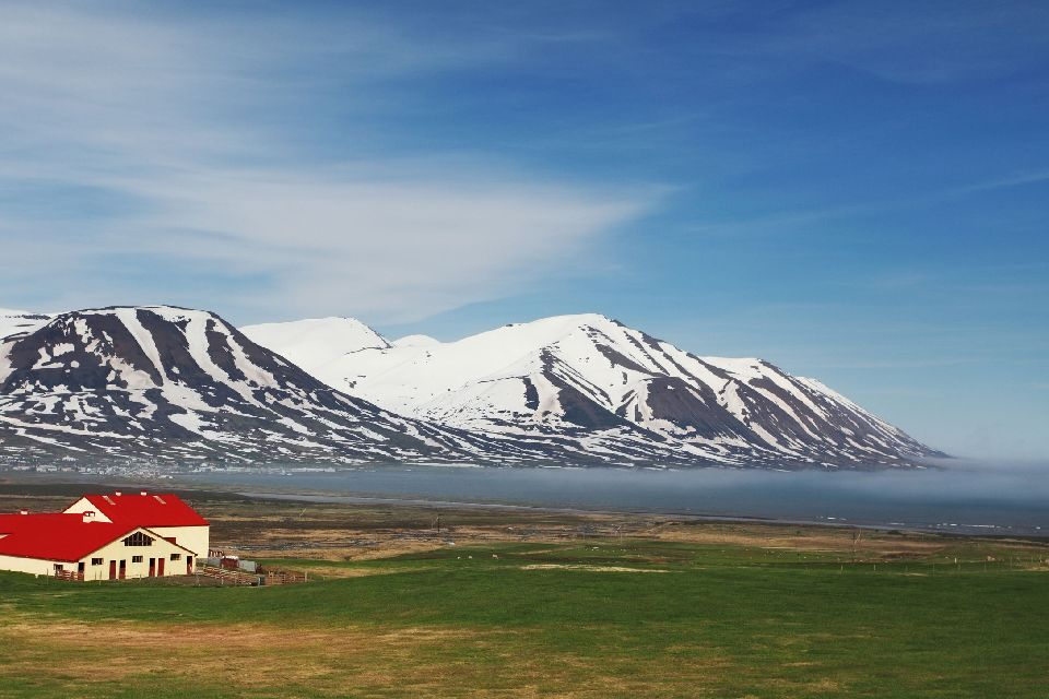 Les fjords , Fjord Veidileisa , Islande
