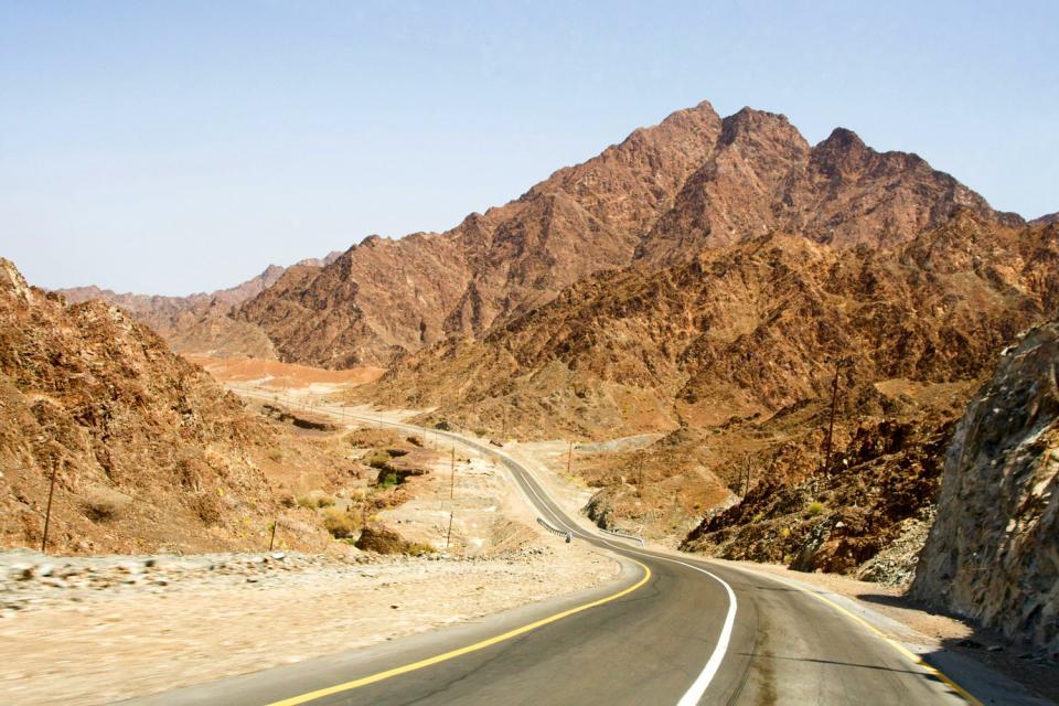 La chaîne de montagnes Asir , Arabie saoudite