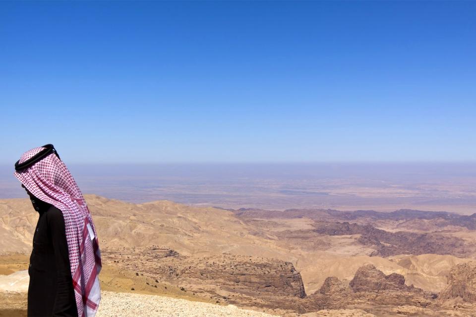 La chaîne de montagnes Asir , La chaîne de montagne de l'Asir , Arabie saoudite