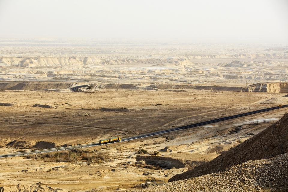 La longue faille du rift , La Vallée du Rift, Israël , Israël