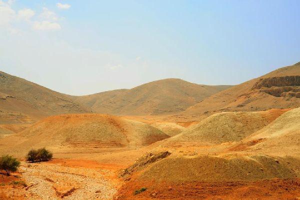 Le montagne rocciose , Il deserto del Negev, Israele , Israele