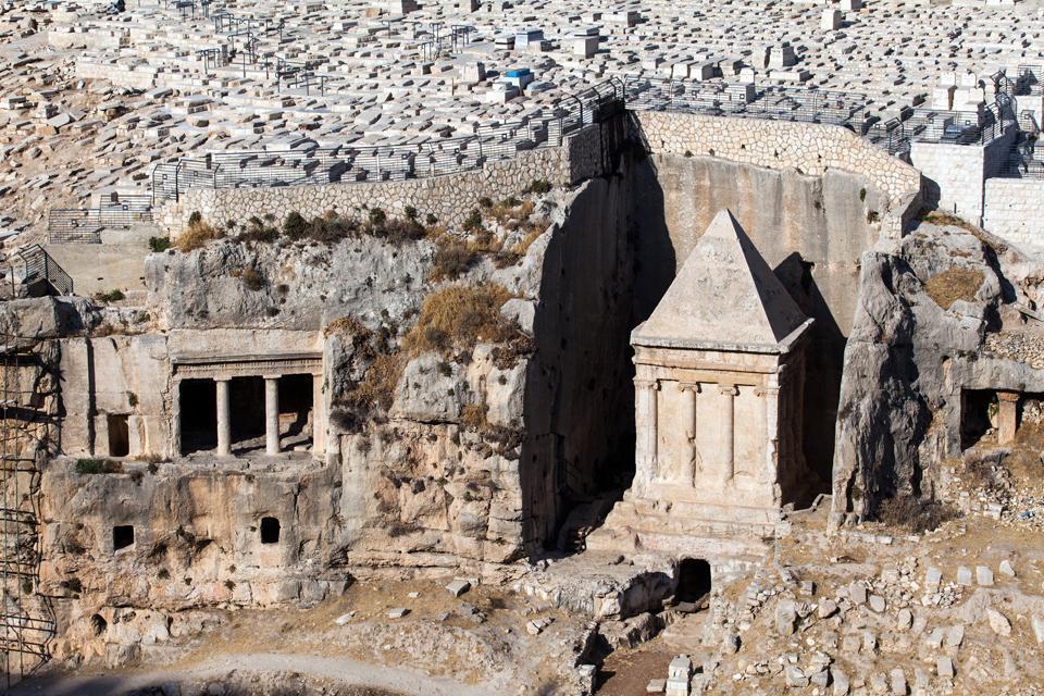 Le mont des Oliviers , Israël