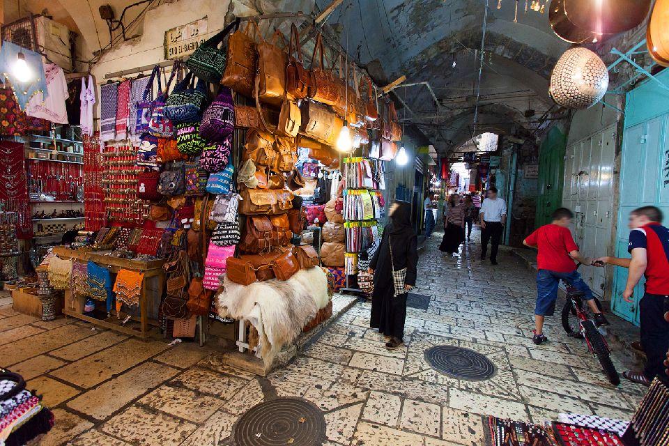 jerusalem le quartier musulman de la vieille ville isra l. Black Bedroom Furniture Sets. Home Design Ideas