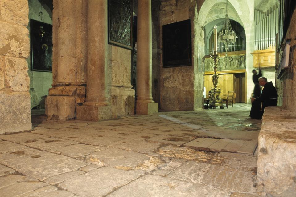 El Santo Sepulcro , El Santo Sepulcro, Jerusalén , Israel