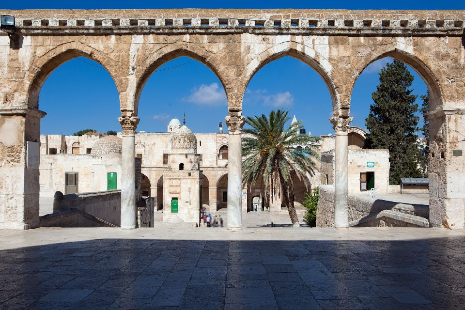 Haram el-Cherif o la Esplanada de las Mezquitas , Israel