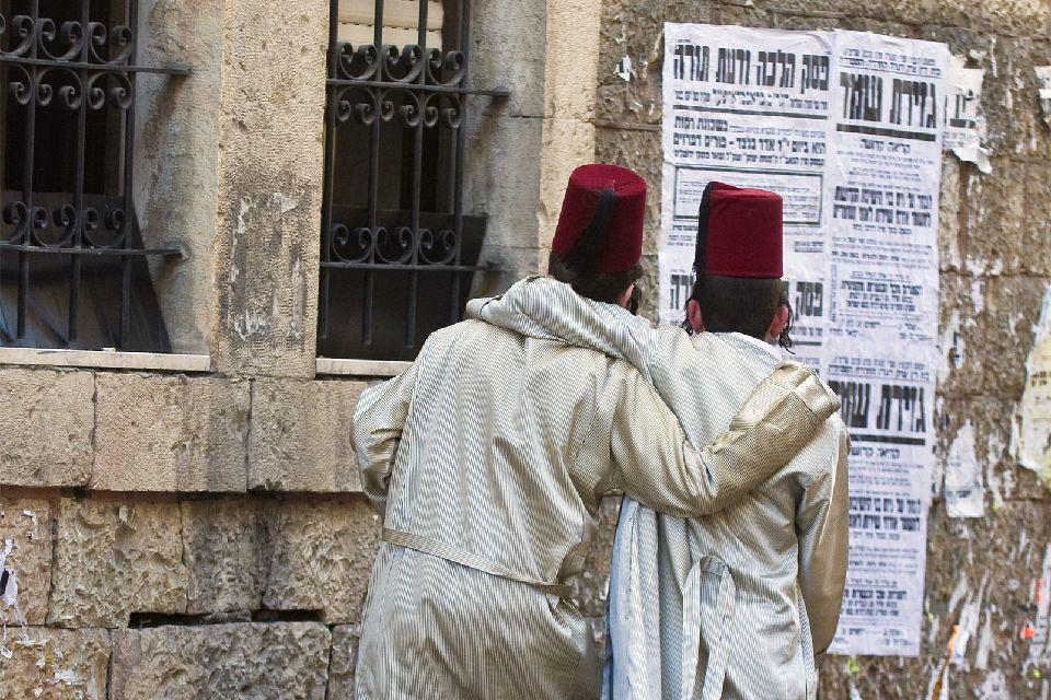 JERUSALEM-Mea Shearim (Jérusalem Ouest) , Méa Shéarim, Jérusalem, Israël , Israël