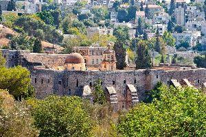 El Monasterio de la Cruz (Jerusalén oeste) , El monasterio de la Cruz, Jerusalén , Israel