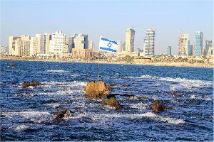 Tel-Aviv , Die Marina von Tel Aviv, Israel , Israel