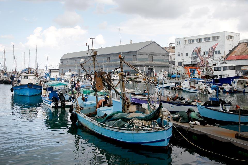Jaffa , Le port de Jaffa , Israël