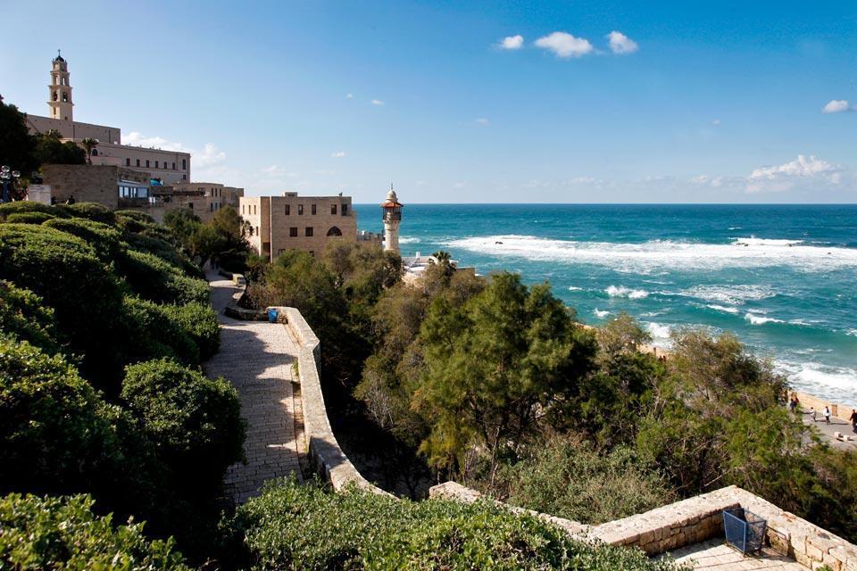 Jaffa , Le Gan Hapisga  ou Jardin de la Cime , Israël