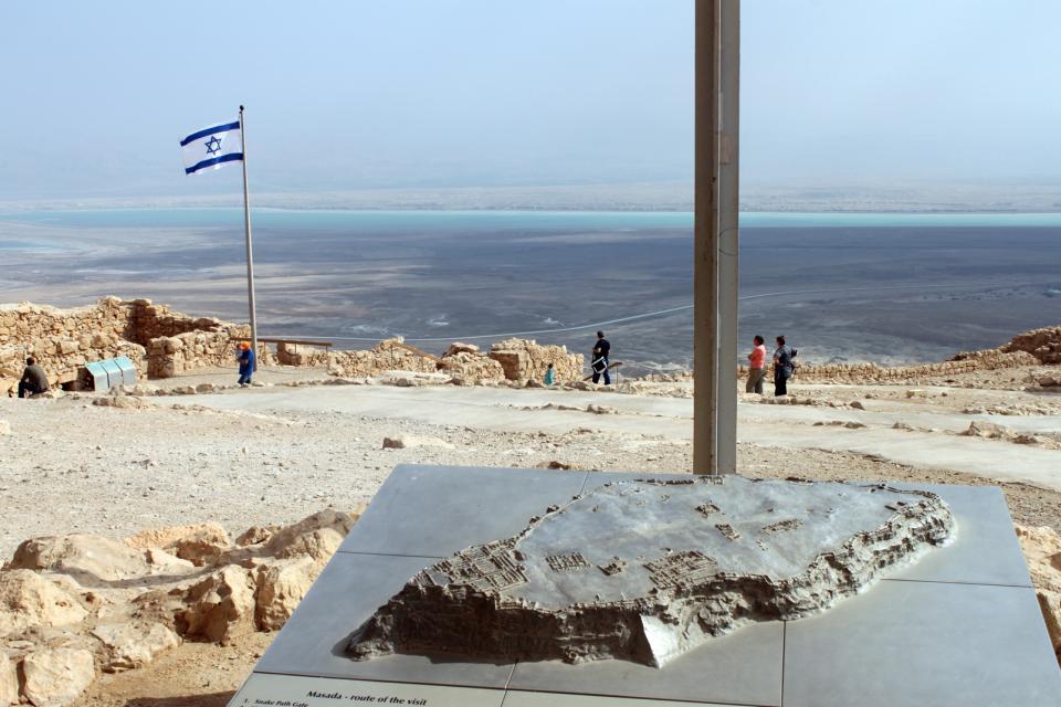 Massada , Massada, Israël , Israël