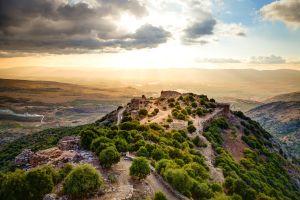 , La fortaleza de Nemrod, Los yacimientos arqueológicos, Israel