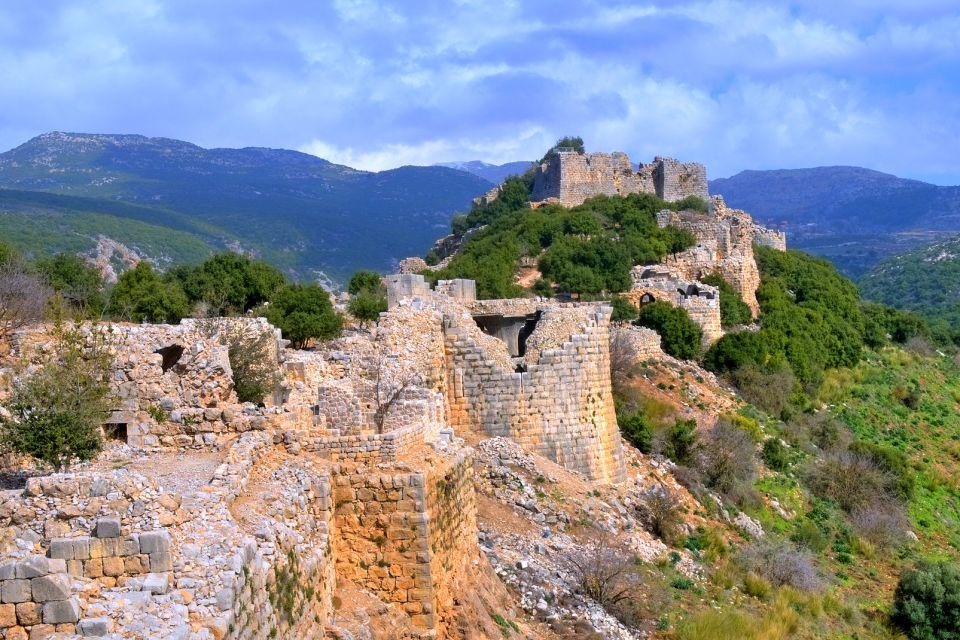 Les sites archéologiques, israël, moyen-orient, archéologie, vestige, forteresse, nimrod, fort, antiquité