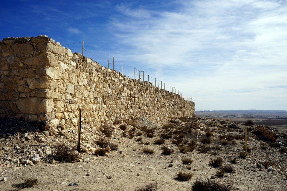 Les sites archéologiques, tel arad, arad plain, israel, moyen-orient, canaanite, chalcolithique, desert, negev, arch?ologie, ruines, d?sert, ch?teau
