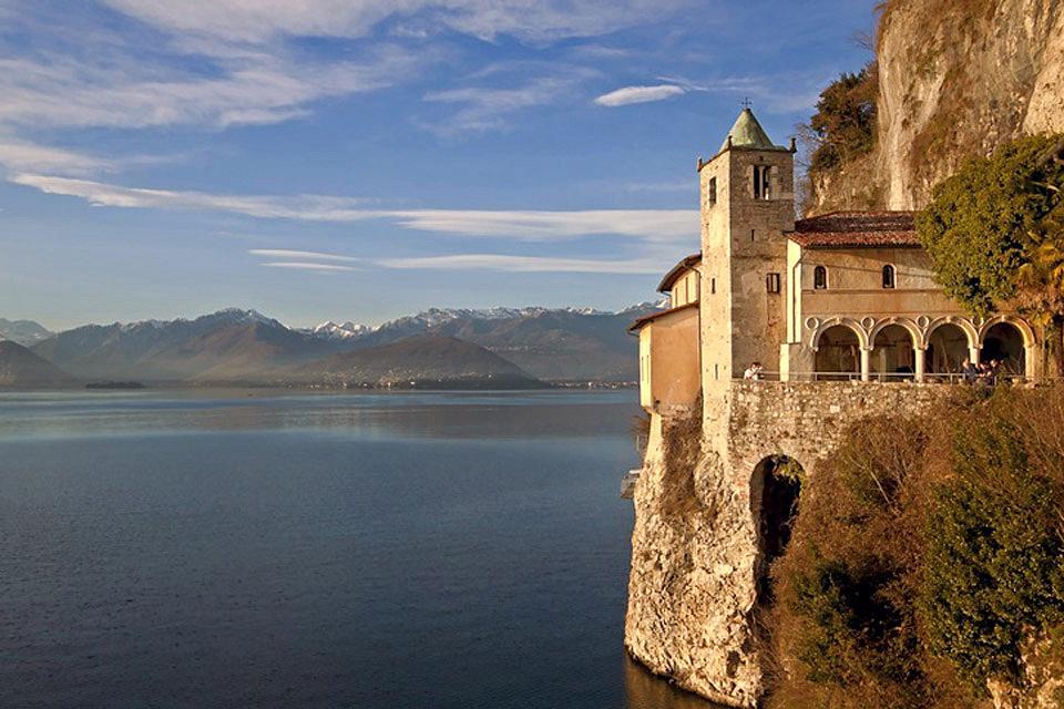 Der Maggioresee , Italien