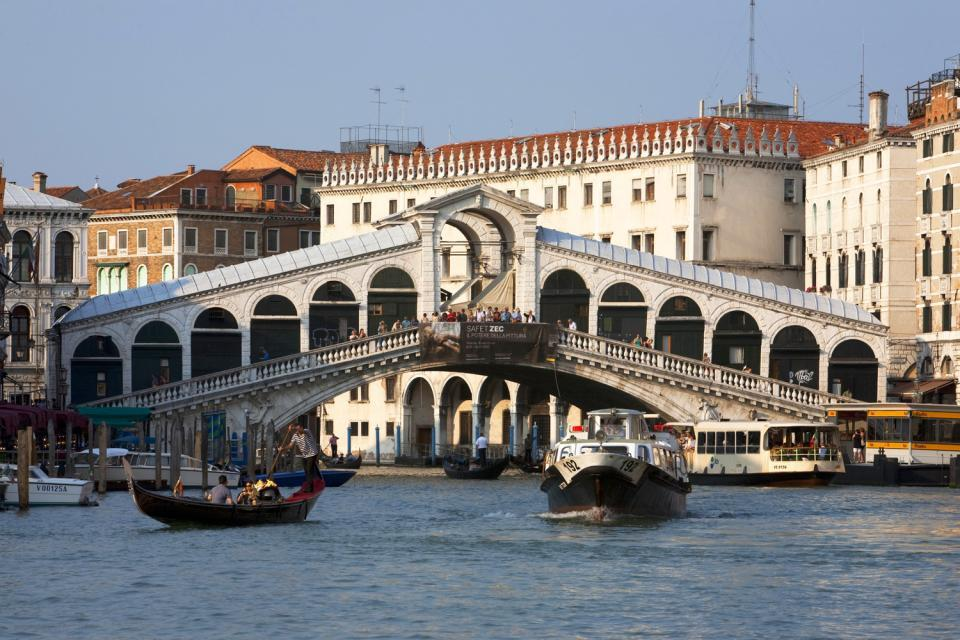 Monuments of Venice , Italy