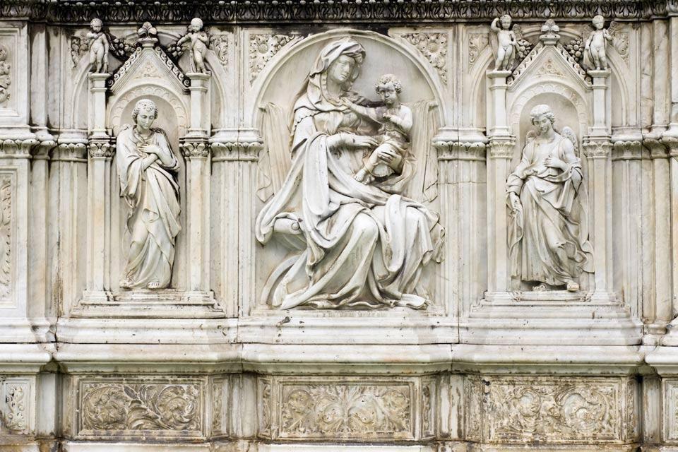 Monuments of Siena , Italy