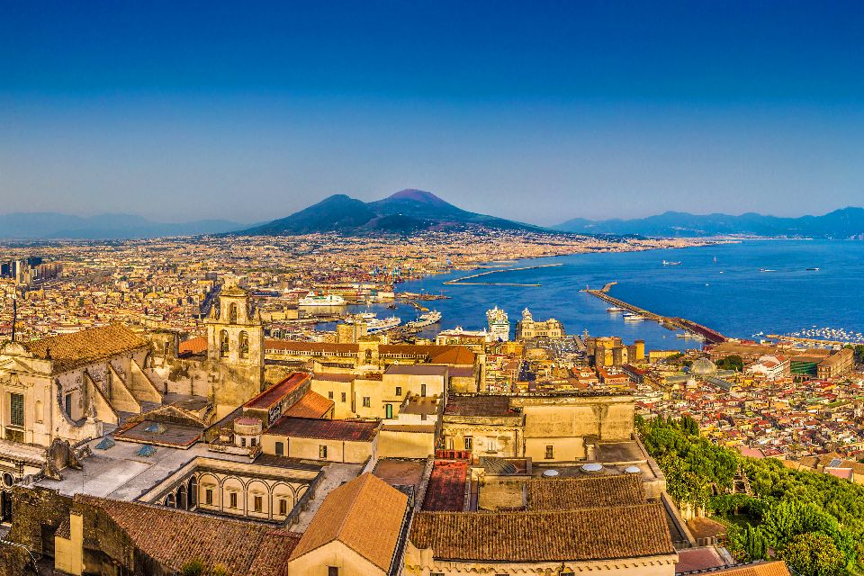 Naples Bay , The incomparable Bay of Naples , Italy