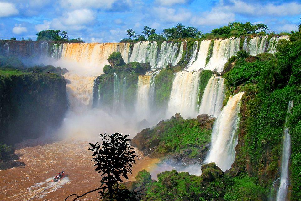 The Iguaçu Waterfalls , Between Brazil and Argentina , Argentina