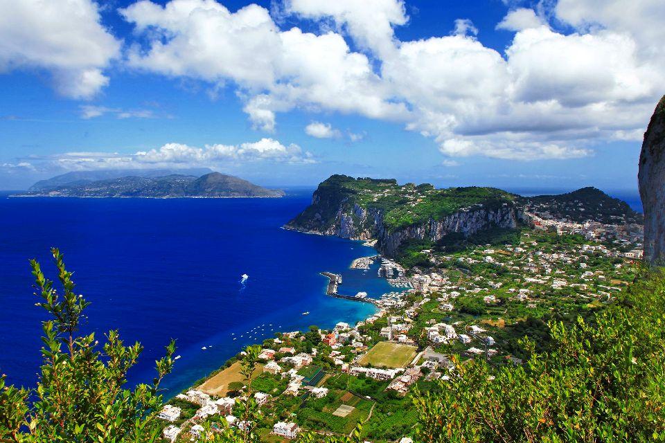 L'île de Capri , Italie