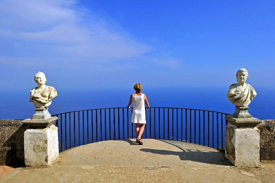 La côte amalfitaine , Point de vue à Positano , Italie