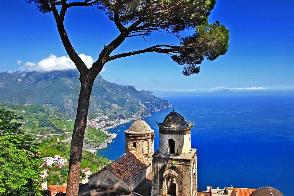 La côte amalfitaine , Ravello , Italie