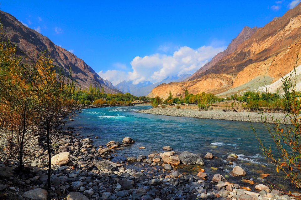 Les plaines de l'Hindu Kuch, Les paysages, Afghanistan