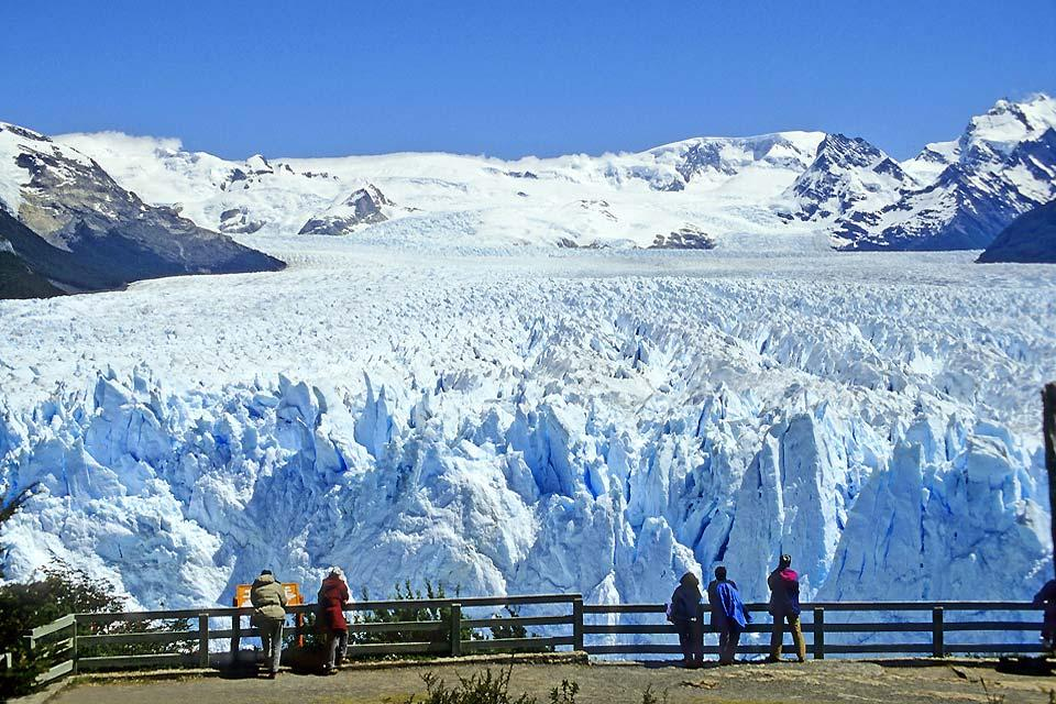 Le glacier Perito Moreno , Cascade de glace en Argentine , Argentine