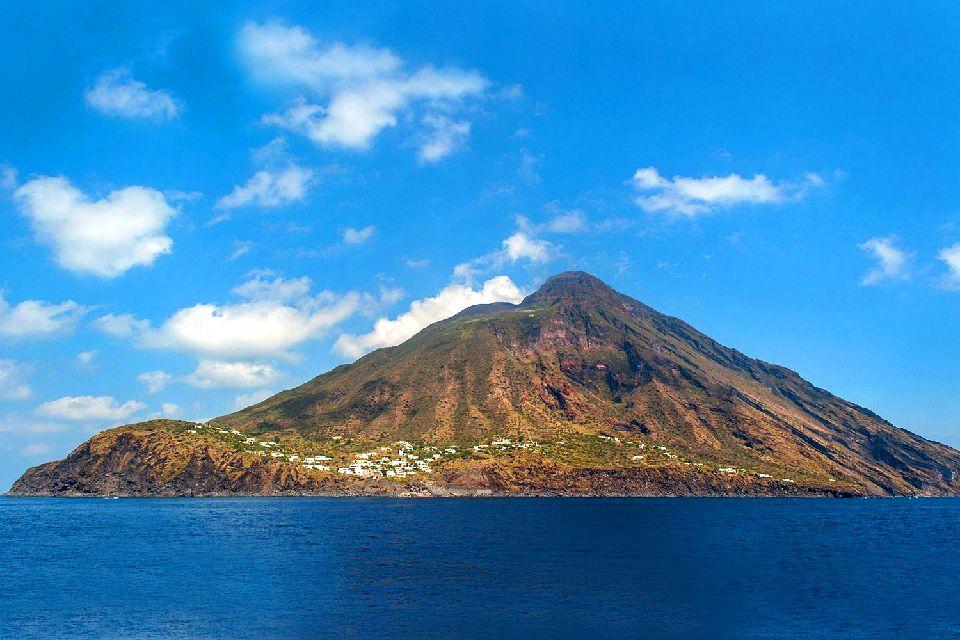 Stromboli , Vulkaninsel Stromboli , Italien