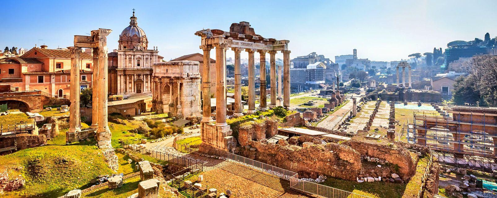 I fori romani , Roma , I fori imperiali , Italia