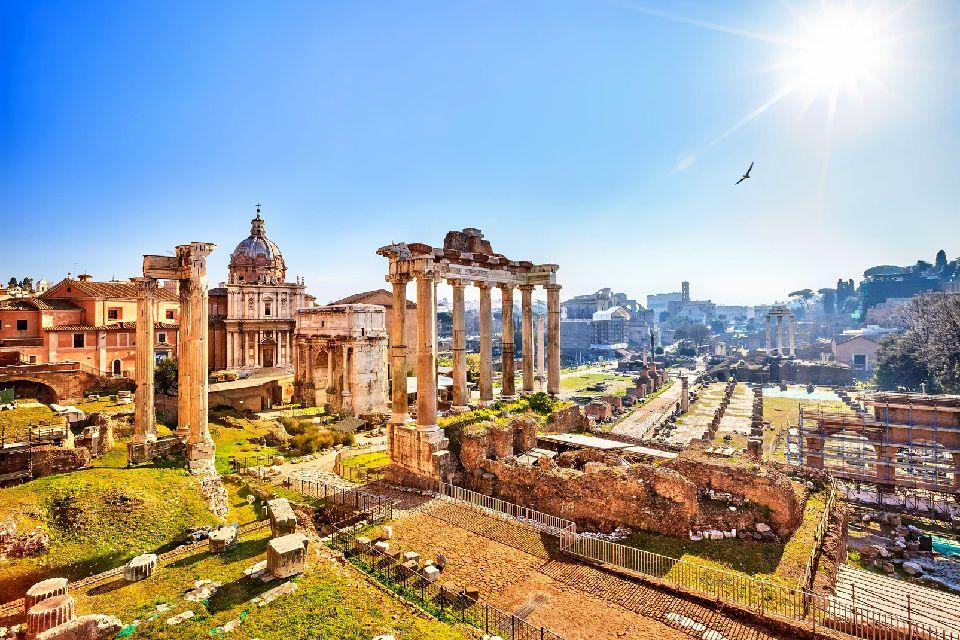 Les sites romains , Les forums impériaux , Italie