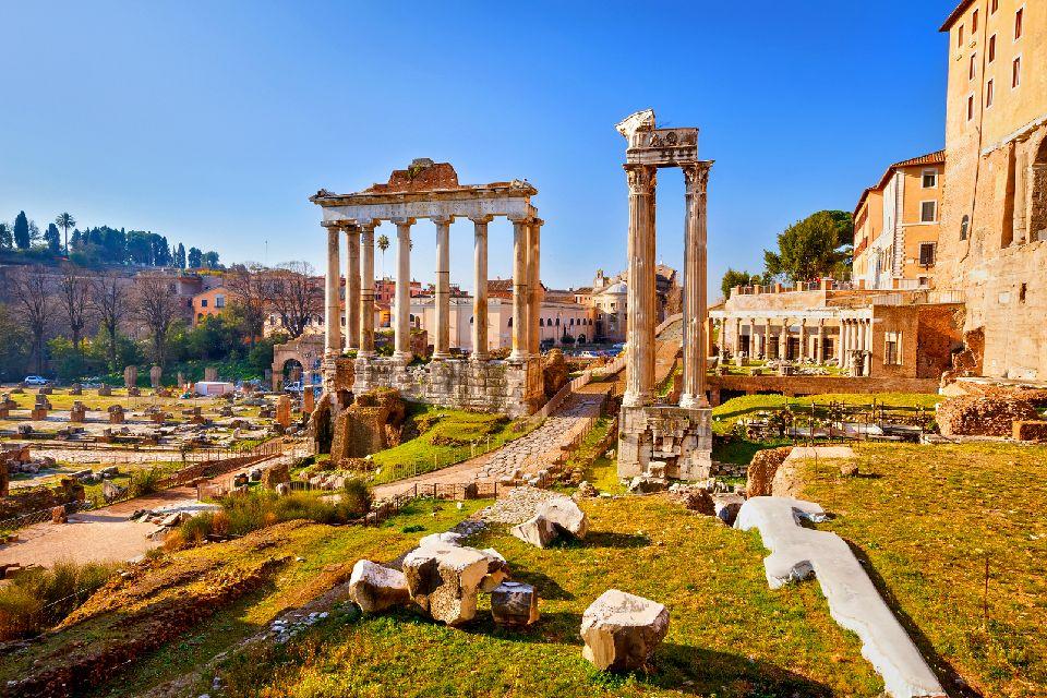 Les Sites Romains Latium Italie