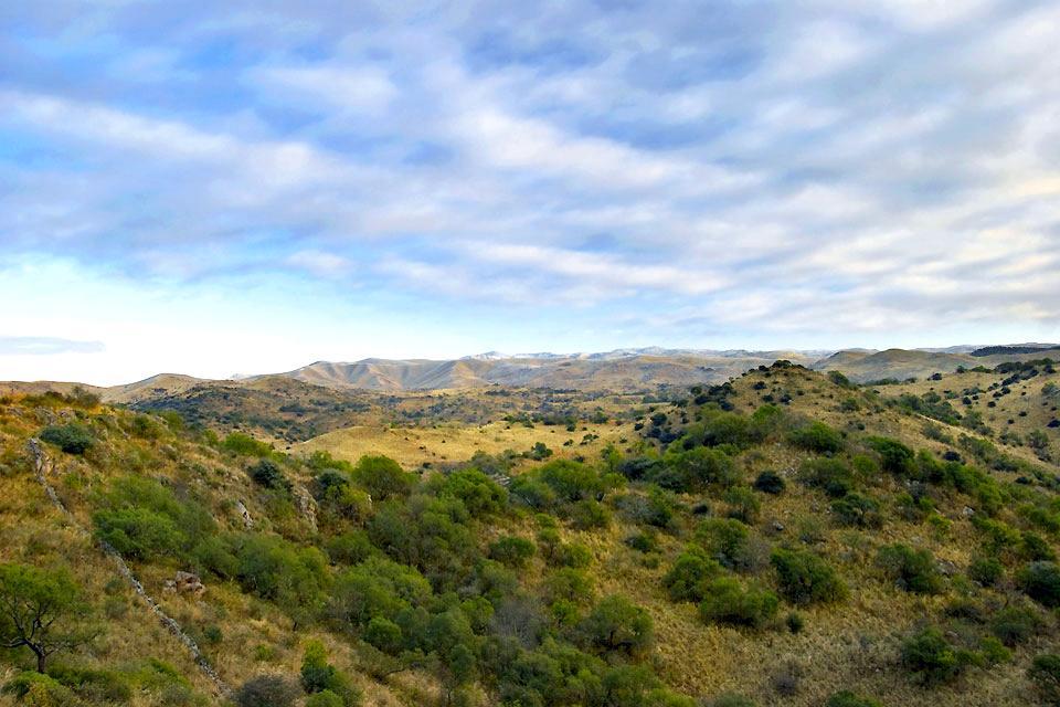 La Sierra de Cordoba , Un paysage de la Sierra , Argentine