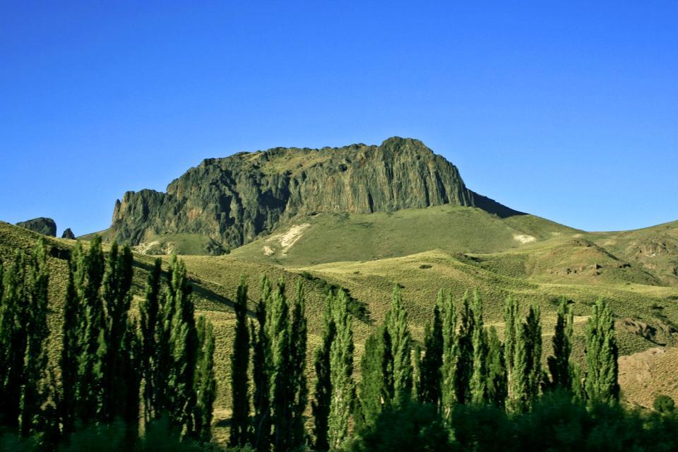 La Sierra de Cordoba , Des étendues arides , Argentine