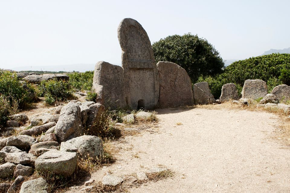 The ruins of Santa Cristina , Italy
