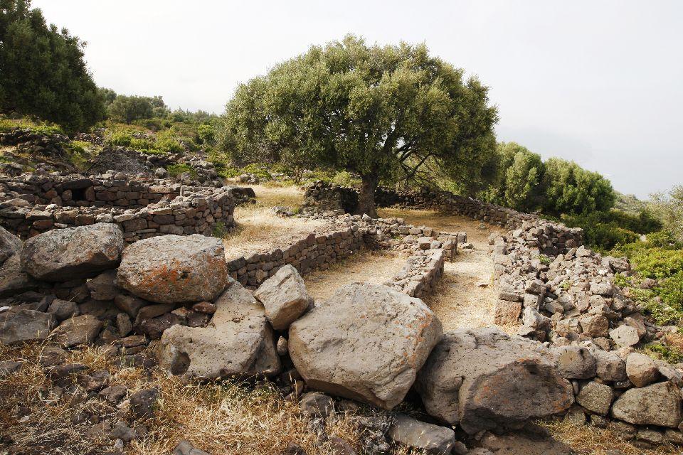 Las ruinas de Santa Cristina , Italia