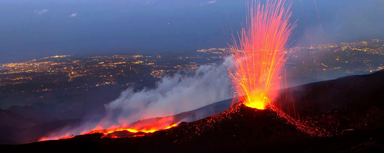 Webcam Etna Panorama