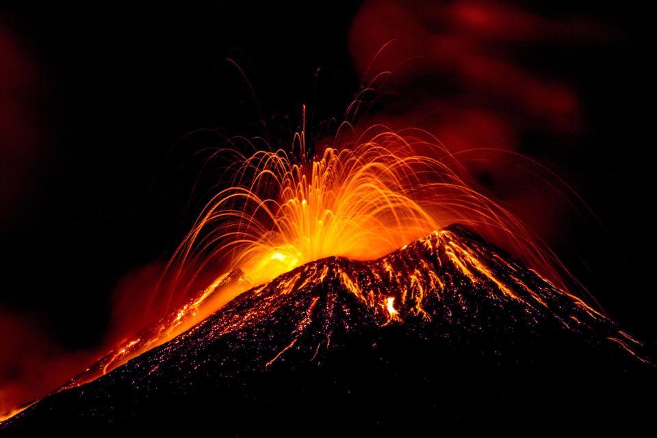 Der Ätna , Faszination Vulkan , Italien