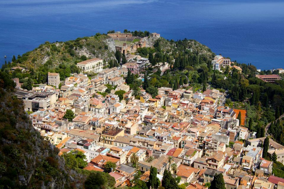 Der Ätna , Veränderung , Italien