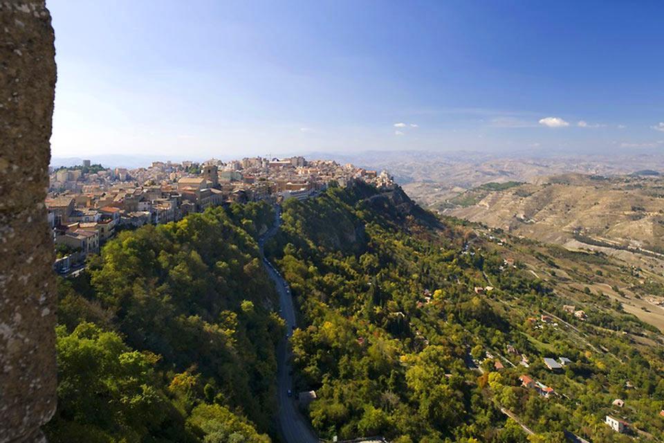 Das Zentrum der Insel , Die Zentralregion Siziliens , Italien