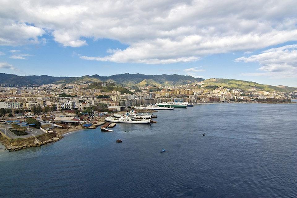 La costa settentrionale , La costa nord della Sicilia , Italia