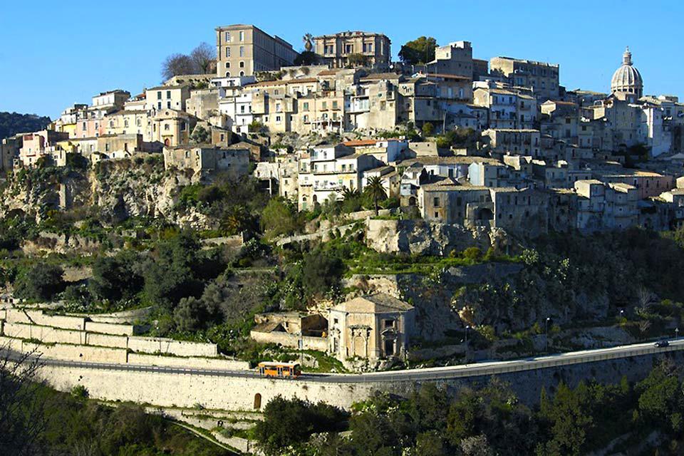 La côte sud , Raguse, Sicile , Italie