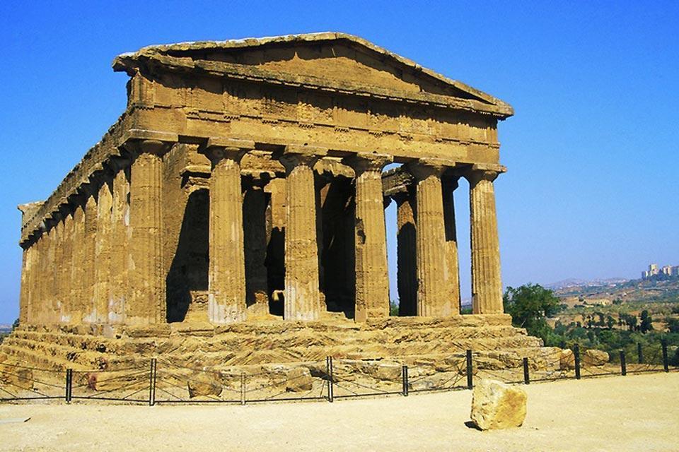 Da Agrigento a Tindari , Il Tempio della Concordia , Italia
