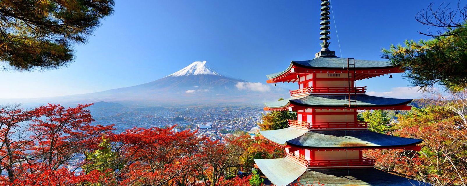 Il monte Fuji , Il monte Fuji, Giappone , Giappone