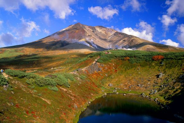 , The Daisetsuzan national Park, Landscapes, Japan