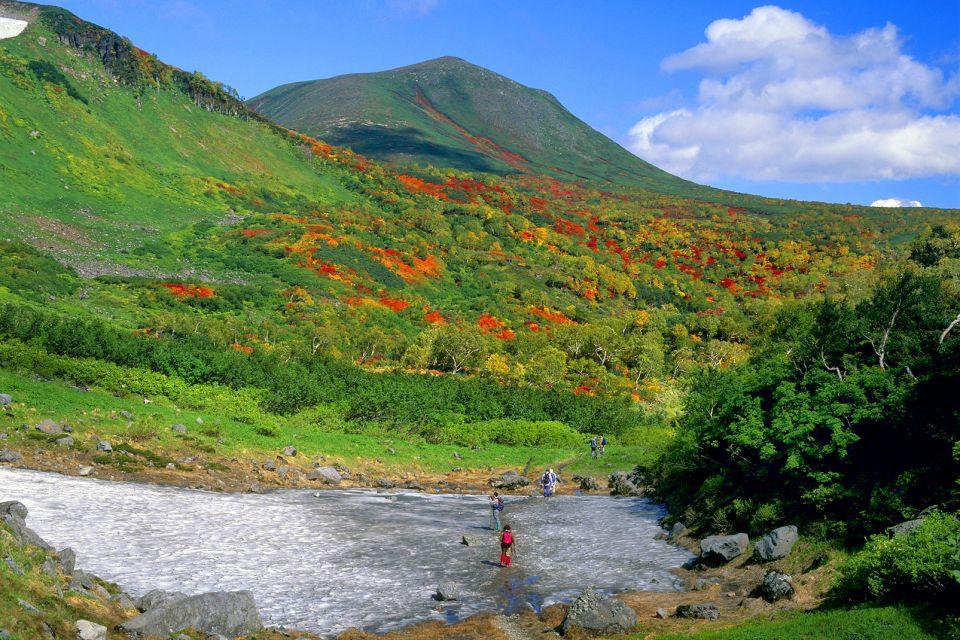 , Il Parco Nazionale di Daisetsuzan, I paesaggi, Giappone